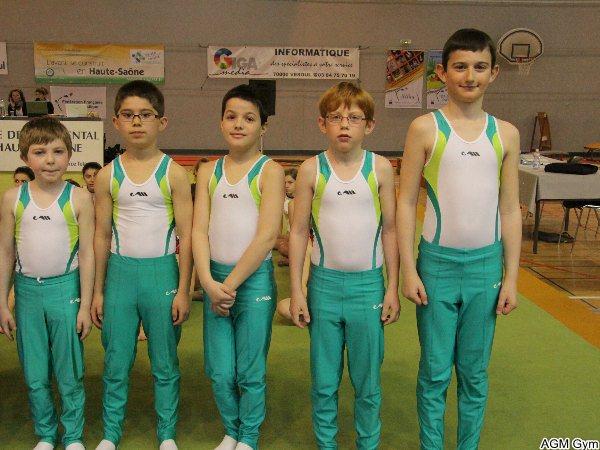 équipe (2) DIR benjamins