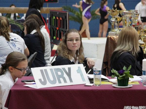 Céline juge au saut