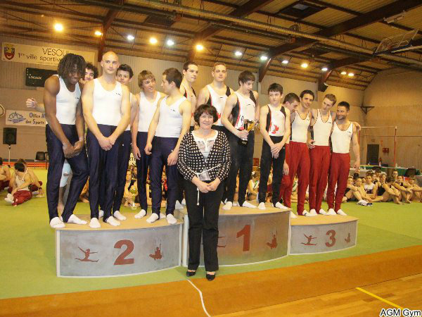 deuxième surprise : Montbéliard champion de FC en Divison Nationale
