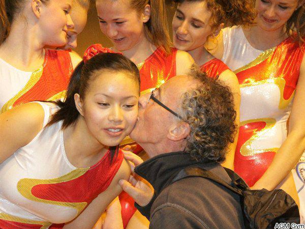 JF Simonin, pt de l'OMS, félicite Pontarlier 1ère en DN