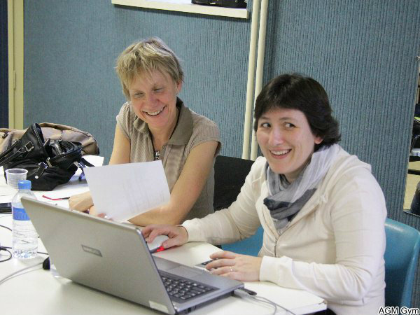 le secrétariat informatique : Nathalie et Mireille au top !