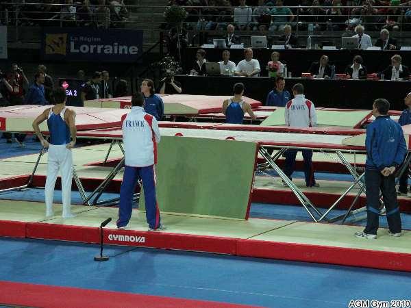 passage de Grégoire Pennes et Sébastien Martiny en 3ème position sur 8 finalistes