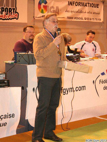 Pierre Carlet honoré par le Comité Régional