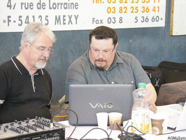 Pierre Marie et Damien en plein travail