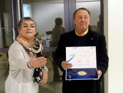 Jean Berand et Dominique Cayzelle de la FFG