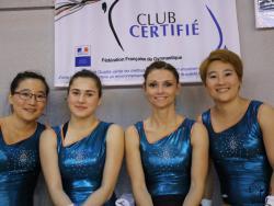 Emilie, Anna, Glori, Alexandra
